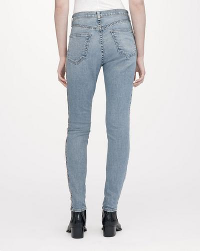 Rag & Bone - High Rise Skinny Liho With Tape