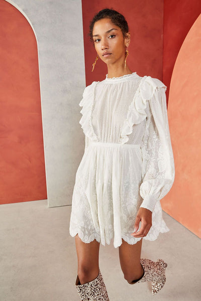 Ulla Johnson - Dorithie Dress Blanc