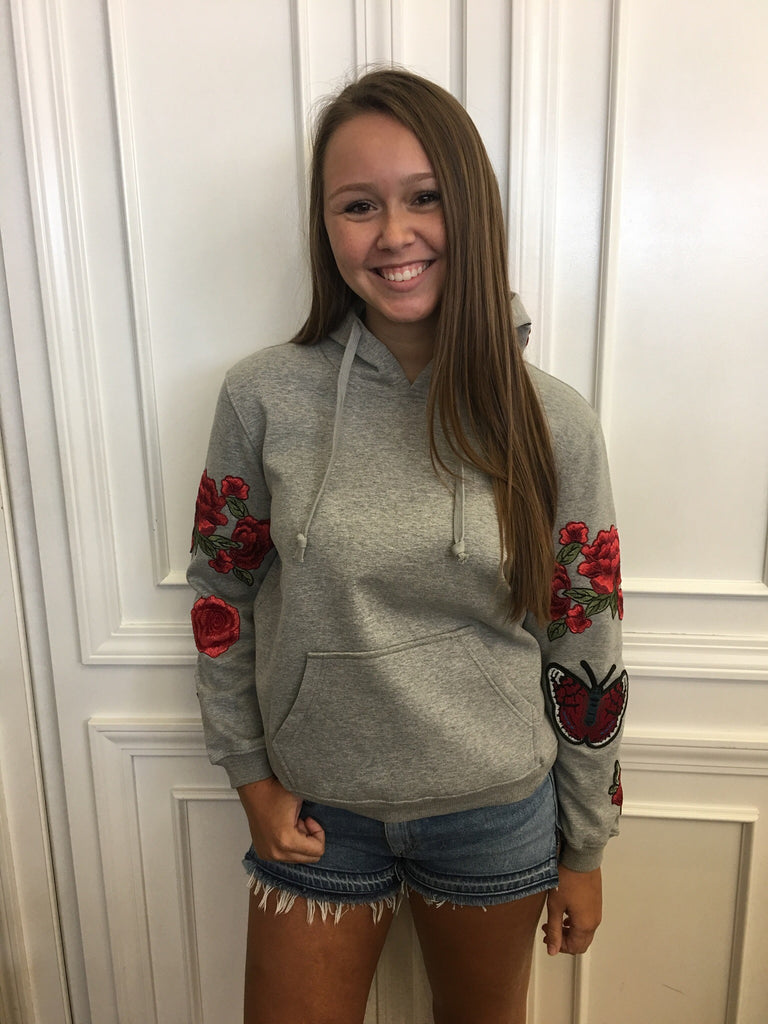 Central Park West - Abbot Kinney Rose Hoodie