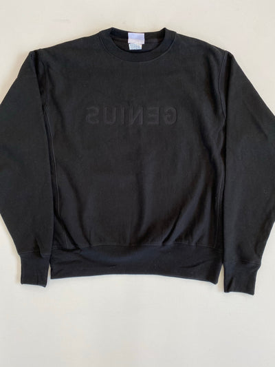 Blond Genius - 'Genius' Embroidery Sweatshirt