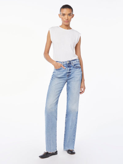 Frame Denim - Le Jane Straight Leg Jean in Glacier