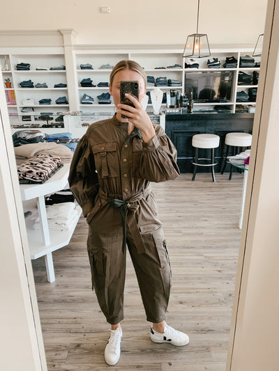 Ulla Johnson - Reverie Jumpsuit in Fatigue