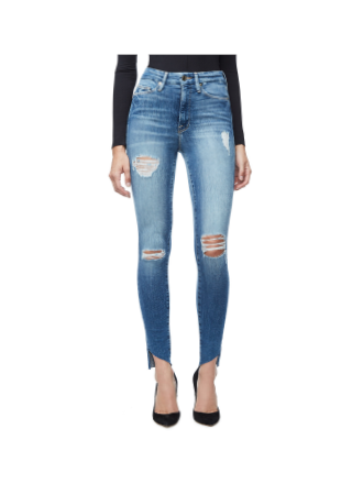 Good American Denim -Good Waist Jeans in Blue 125