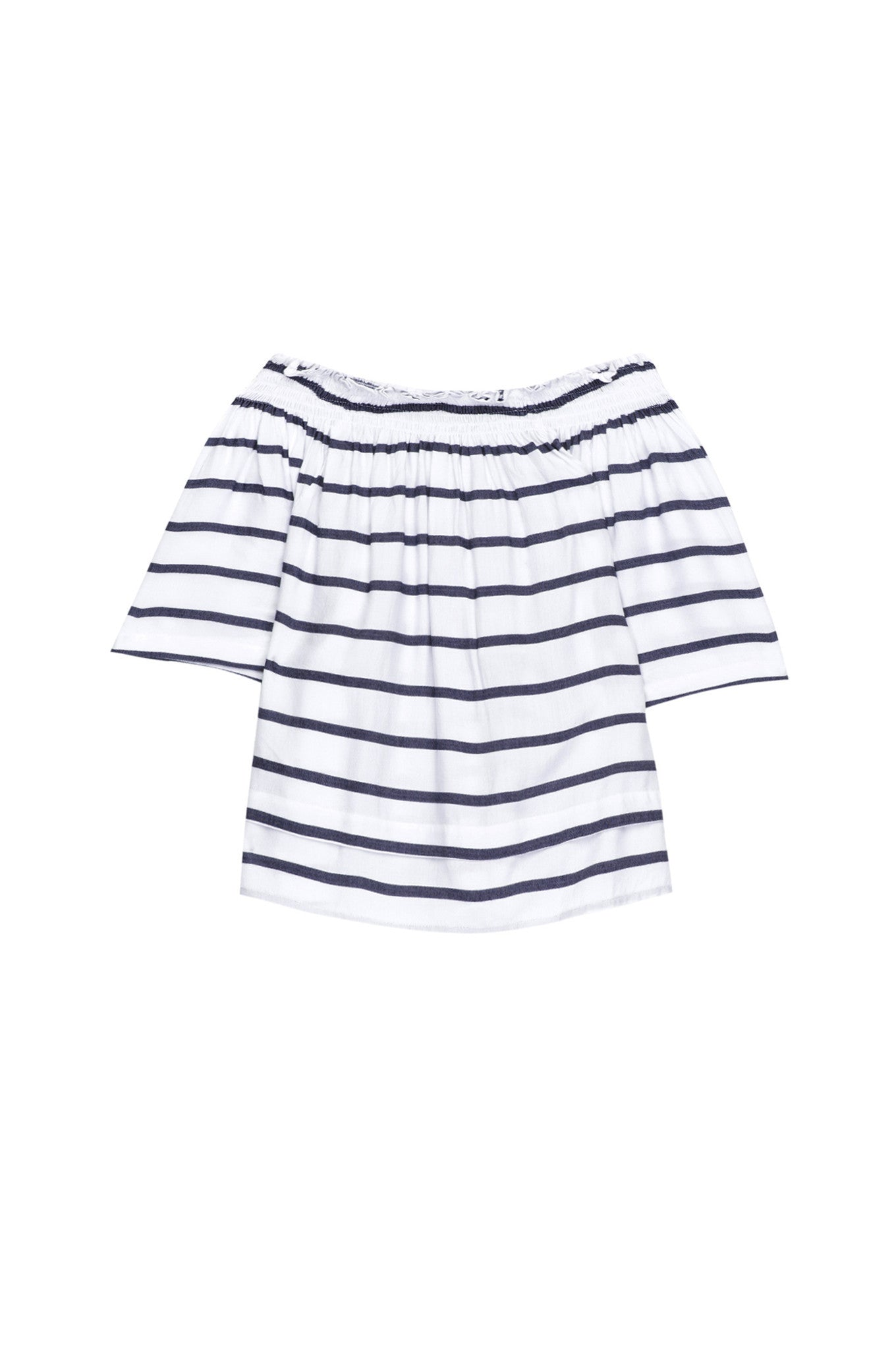 Rails - Isabelle White/Royal Stripe