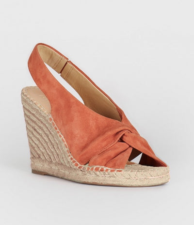 Joie - Kaili Wedge Sandals in DESERT RED