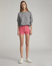 Rag & Bone - Justine Short in Bull Pink