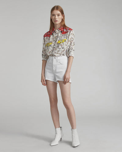 Rag & Bone - Justine Short in White