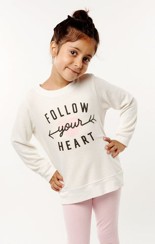 Sol Angeles - Kids Heart Pullover