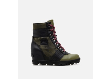 SOREL- YOUTH Lexie Wedge Camo Hiker