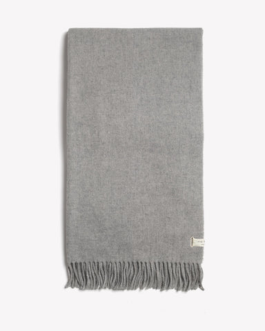 Rag & Bone - Classic Wool Scarf  Light Heather Grey
