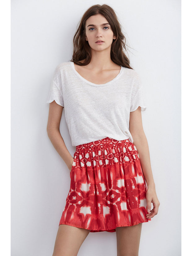 Velvet Mackay Skirt at Blond Genius