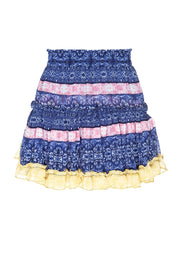 Misa - Marion Skirt in Tile Print Mix