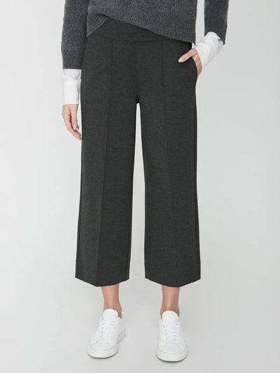 Brochu Walker - Miro Cropped Pant in Dark Charcoal Melange