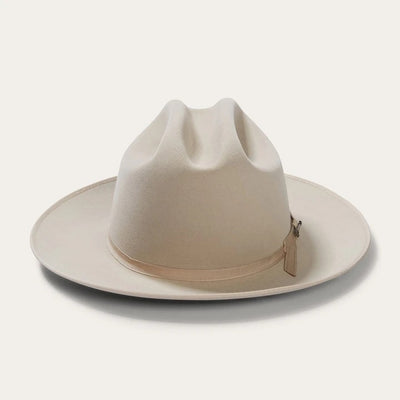 Blond Genius x Stetson - Open Road Royal Deluxe Hat in Silverbelly