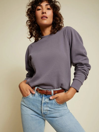 Nation LTD - Pamela Darted Shoulder Sweatshirt in Big Sur