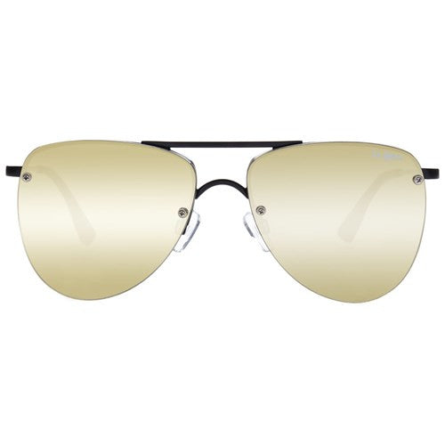 Le Specs The Prince Matte Black Gold Revo Mirror