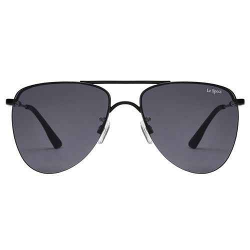 Le Specs The Prince Matte Black Smoke Mono