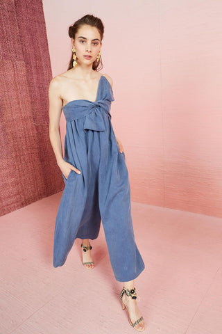 ULLA JOHNSON - Jordane Jumpsuit #PS190403 Chambray