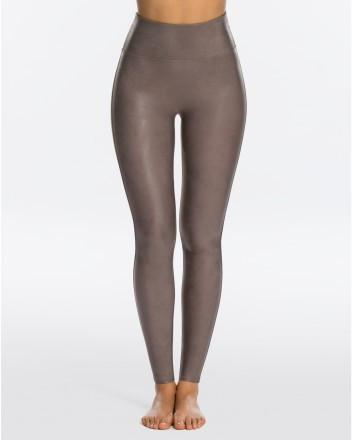 Spanx - Faux Leather Leggings Antique Rose