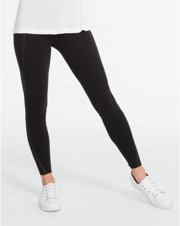 Spanx - Mesh Contour Leggings Very Black
