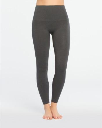 Spanx - Look At Me Now Leggings Heather Charcoal