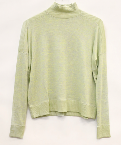 Rag & Bone - Avryl Turtleneck Sweater in Lime Grey Multi