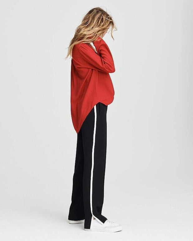 Rag & Bone Collection - Dean Shirt in Fire Red
