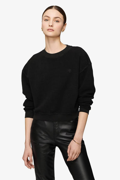 Anine Bing - Reed Sweatshirt in Black