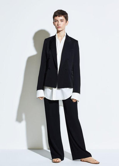 VINCE - Relaxed Trouser Black
