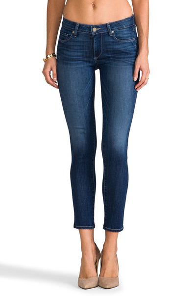 Paige Premium Denim - Skyline Ankle Peg in Reseda