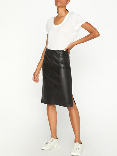 Brochu Walker - River Skirt in Black Onyx