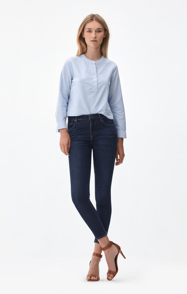 Citizens of Humanity - Rocket Crop High Rise Skinny in Blue Moon