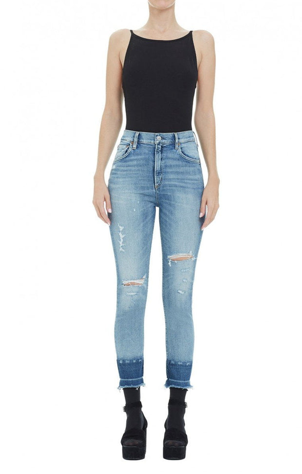 AGOLDE - Ruby Crop Super Hi Rise Slim Straight Outsider