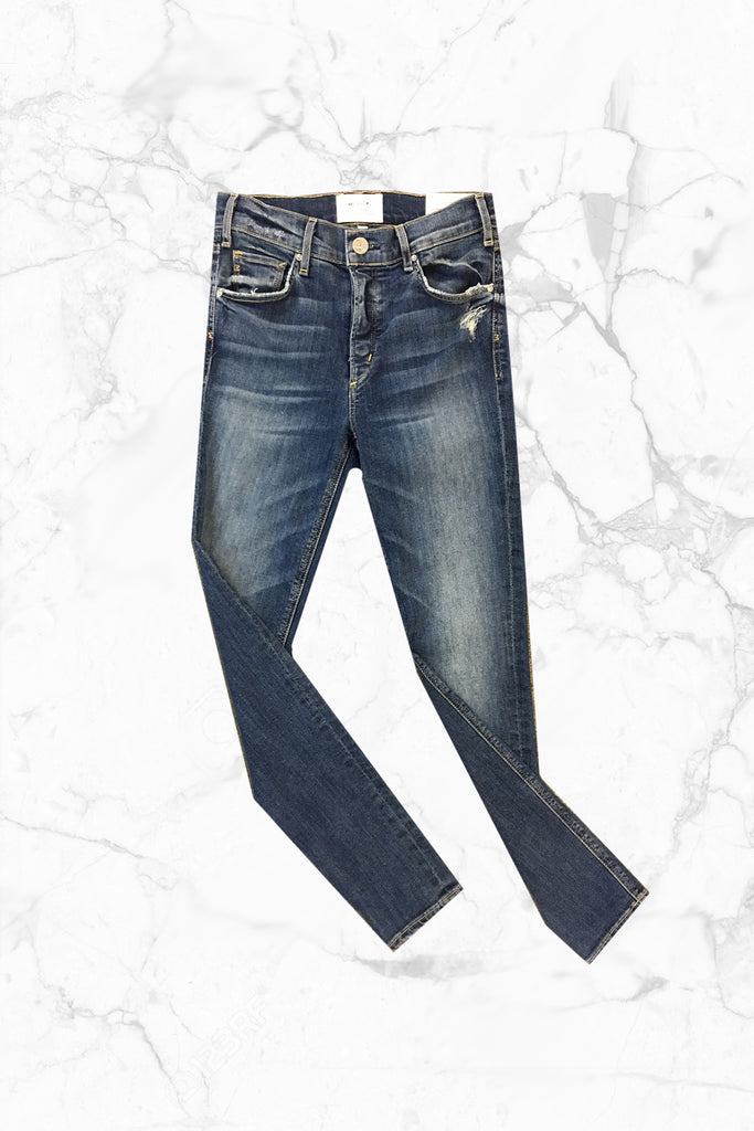 McGuire - High Rise Newton Skinny w/ Button Fly in Sampaio