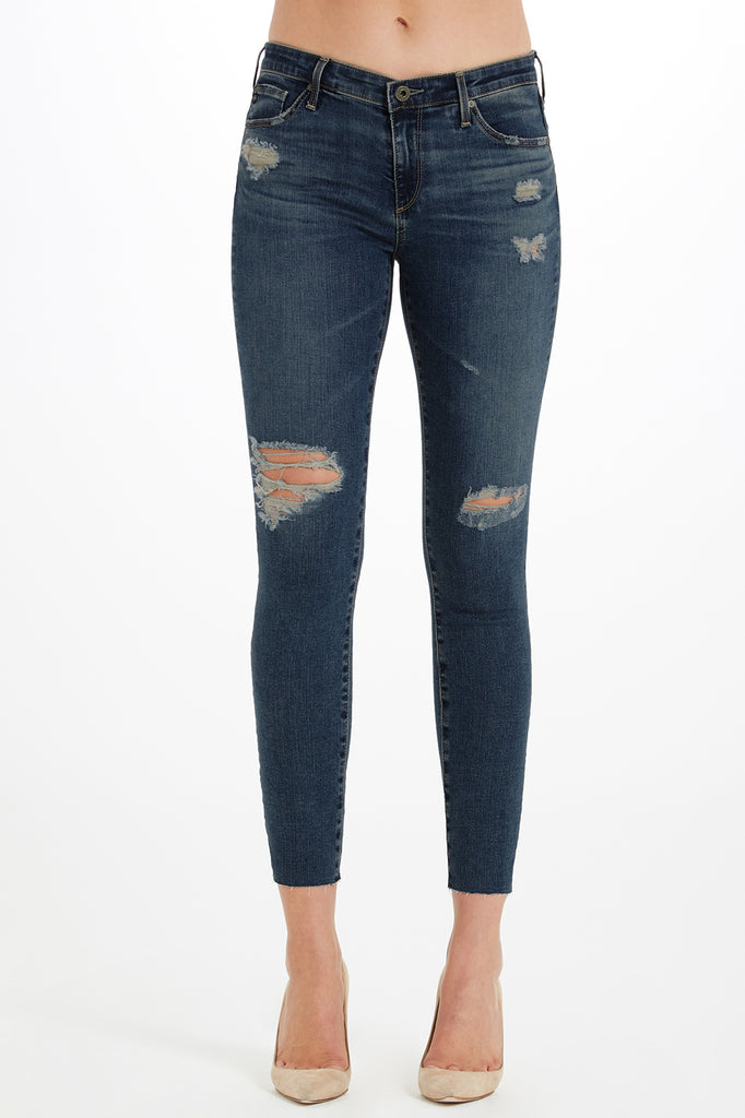 AG - The Legging Ankle Serendipitous Destructed