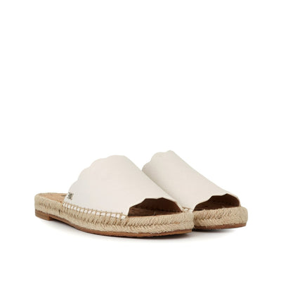 Sam Edelman - Andy Leather Slide Bright White