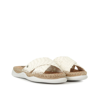 SAM EDELMAN - Jovie Sandal in White Woven