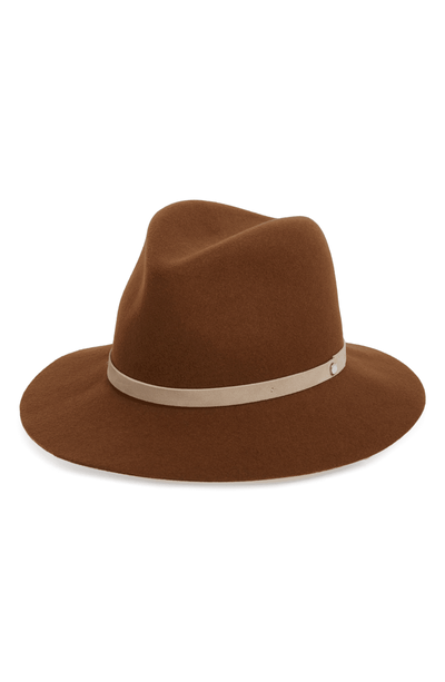 Rag & Bone - Floppy Brim Fedora in Whiskey