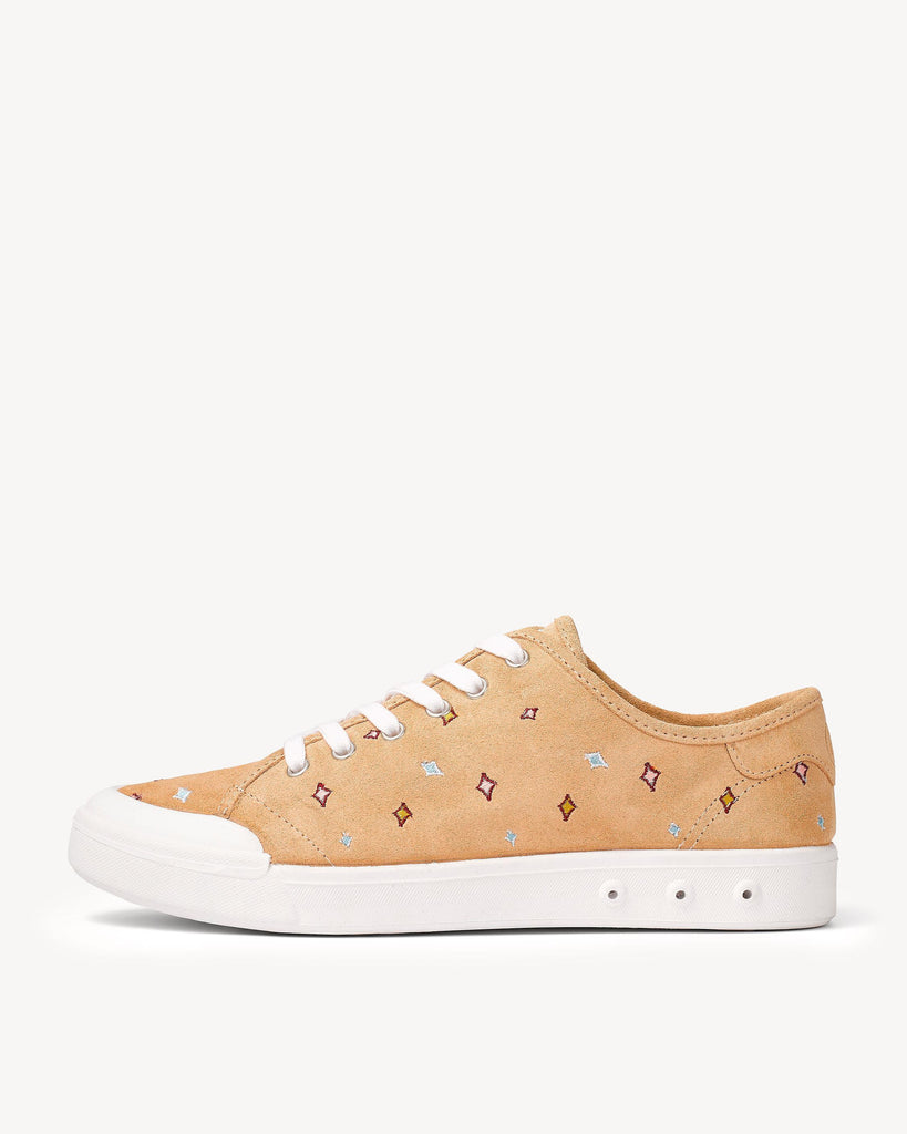 Rag & Bone - Standard Issue Lace Up Dune Embroidered