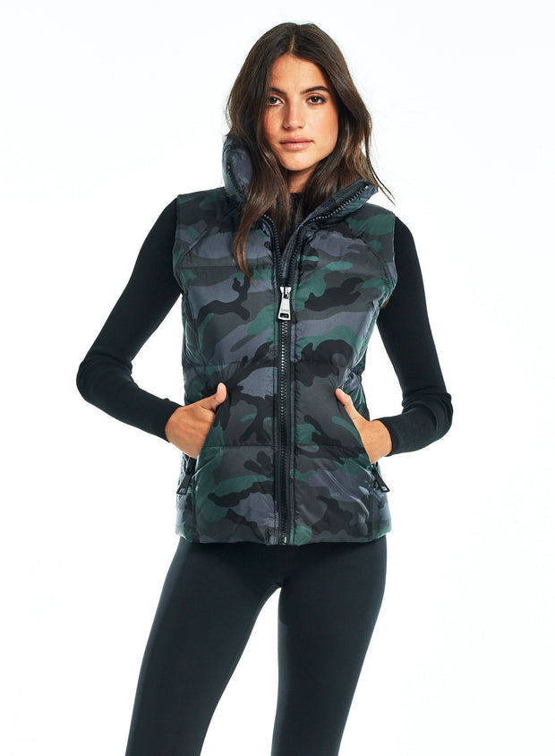 SAM - Camo Freedom Vest in Forest