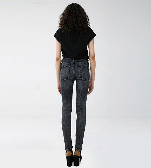 AGOLDE - Sophie Highrise Skinny in Silence