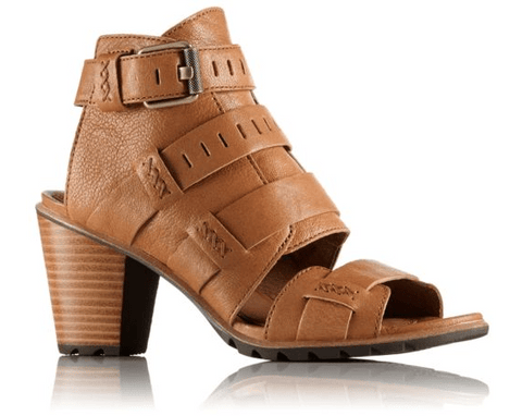 Sorel - Nadia Buckle Camel Brown