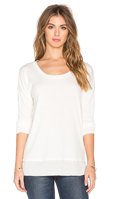 Splendid - Long Sleeve in Off White