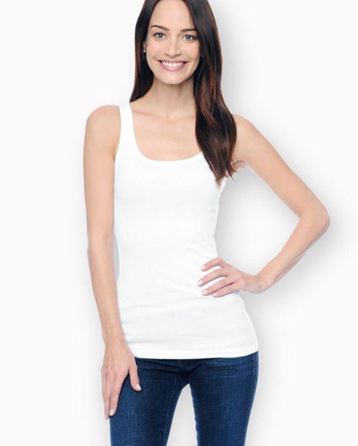 Splendid - 1x1 Tank Top White