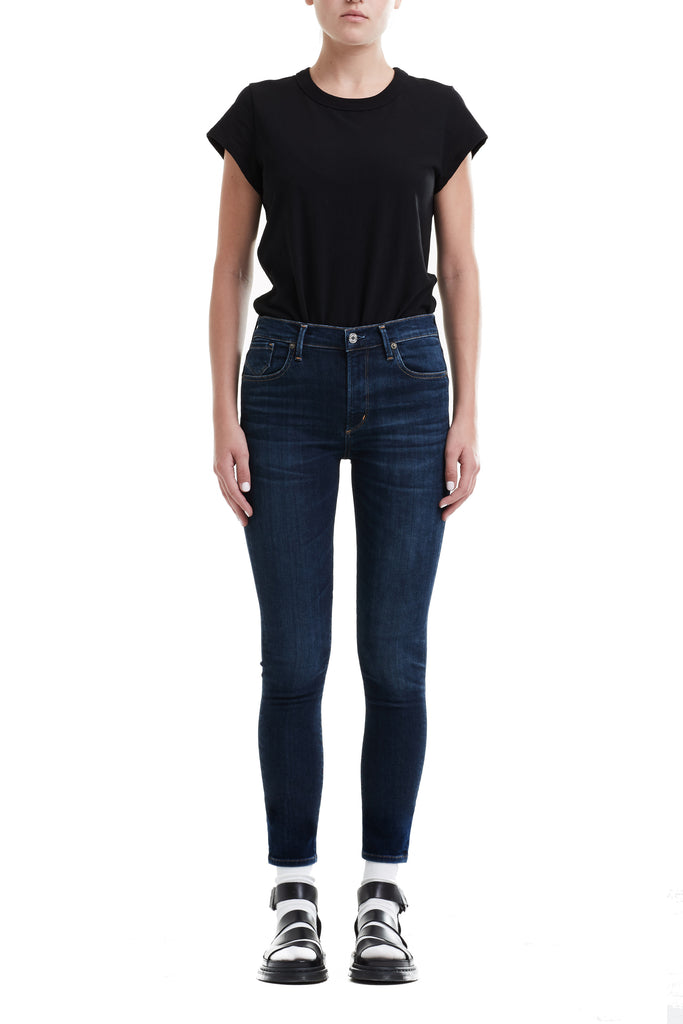 AGOLDE - Sophie Crop High Rise Skinny in Starland