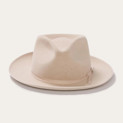 Blond Genius x Stetson - Stratoliner B Fedora in Silverbelly