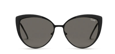 Quay Sunglasses - Sweet Darlin in Black/Smoke Lens