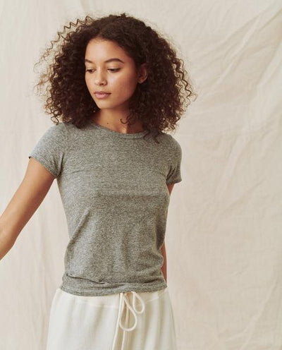 The Great - The Undershirt in Heather Grey
