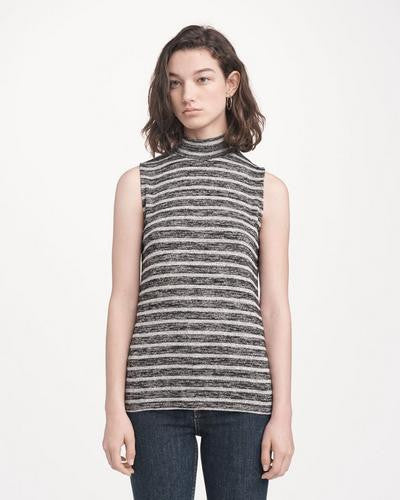 Rag & Bone - Thea Tank Heather Grey/Black