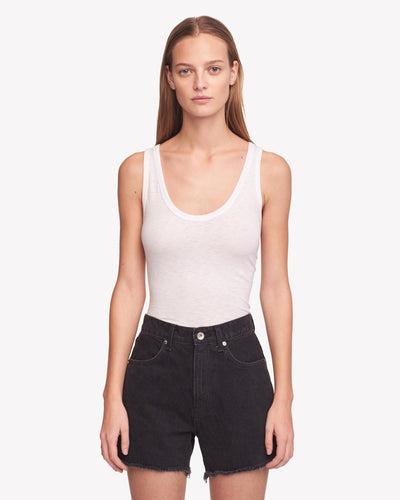 Rag & Bone - Torti Short in Stone Kuro